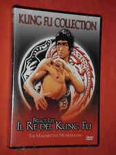 DVD FILM  DA COLLLEZIONE-KUNG FU COLLECTION-BRUCE LEE-re del kung fu-SIGILLATO