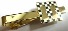 Chess Queen King Checkmate Board Game Rook Knight Pawn Bishop Suit Tie Bar Clip