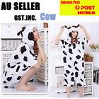COW S Onesies Adult Girls Women Kigurumi Cosplay Pyjamas Pajamas 146-155cm
