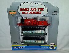 Década de 1990 ERTL THOMAS THE TANK ENGINE FRIENDS JAMES AND entrenadores sin abrir THE Viejo