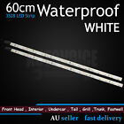 2 X LED Strip Lights 60CM White 36SMD Waterproof Car Auto Camping Bar Decoration
