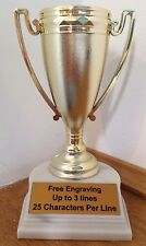 "6"" CUP TROPHY - FREE ENGRAVING"