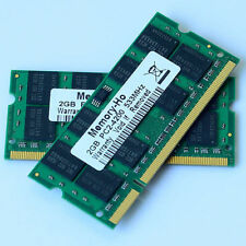 4GO 2x2GO PC2-4200 DDR2 533 533Mhz 200pin Laptop mémoire 4GB 2x2GB SODIMM 4G RAM