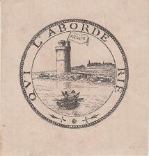 EX-LIBRIS ARTHUR LE MOYNE de LA BORDERIE (Vitré, 1821-1901) HISTORIEN BRETAGNE