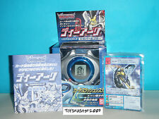 DIGIMON DIGIVICE D-POWER Renamon VER 2.0 BLUE Colour With CARDS RARE Last ONE