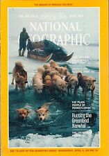NATIONAL GEOGRAPHIC April 1984 GREENLAND NARWHAL HUNTING plus map  US FAR WEST