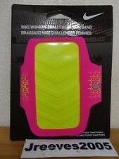 NWT Women's Nike Challenger Arm Band Armband Universal Smartphone Fit 100% Auth.
