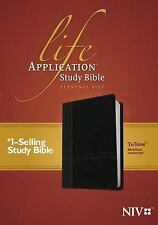 Life Application Study Bible, Personal Size NIV, Tutone (2015, Imitation...