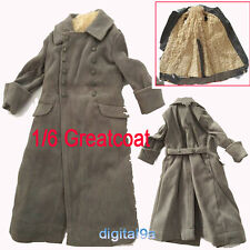 """1/6 Scale WWII German Cold-proof Coat-Dragon Soldier For 12"""" Action Figure"""