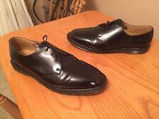 Dr Martens 1461 black steed shoes UK 10 EU 45 England skin mod boanil brush punk