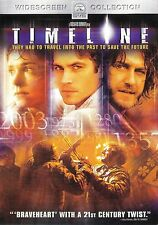 Timeline ~ Gerard Butler Billy Connolly Paul Walker ~ DVD WS ~ FREE Shipping USA
