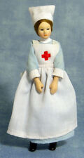 12TH SCALE- PORCELAIN DOLL- NURSE