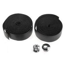 2x Road Bike Bicycle Handlebar Grips Tape Belt + Plugs