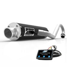 HMF Performance Full System Exhaust Muffler Black + EFI Optimizer Can Am DS 450