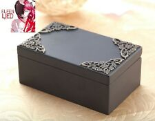 Black Vintage Rectangle Music Box : Elfen Lied - Lilium