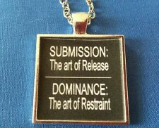 BDSM Jewelry * Submission vs Domination Release and Restraint  * Kink Fetish