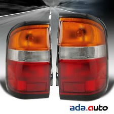 For 1996-1999 Nissan Pathfinder Left Right Side Tail Lights Pair