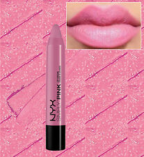 NYX SIMPLY PINK LIP CREAM CHUNKY LIP PENCIL LIPSTICK - FIRST BASE - MAUVE