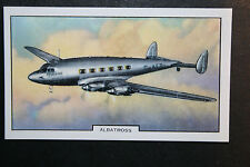 De Havilland Albatross  Airliner    Original 1930's Vintage Card #  VGC