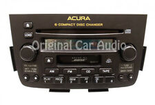 01 02 03 04 ACURA MDX Radio Stereo Tape 6 Disc Changer CD Player BOSE 3TF3 OEM