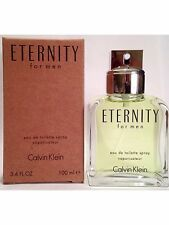 ETERNITY * CK Calvin Klein * Cologne for Men * 3.4 oz * EDT Spray NEW TESTER
