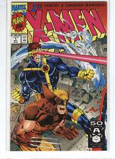 X-men #1 Wolverine Cyclops Iceman variant cover Jim Lee 9.6