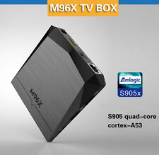 M96x Android 6.0 S905X 2G / 8G KODI 16.1 Smart TV BOX  4K Wifi Media Player