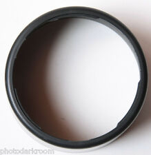"3 5/8"" Bayonet Mount - Unknown Maker - 4.25"" OD 3"" Deep Lens Hood Shade USED H43"
