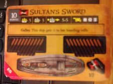Pirates of the Barbary Coast #015 Sultan's Sword Pocketmodel NrMint-MINT
