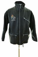 Studio Aventures Mens Jacket XL Black PVC Polyester