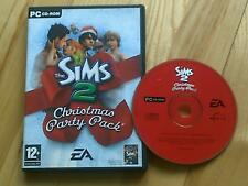 The Sims 2 Christmas Party Pack Expansion Pack PC CD ROM / Windows