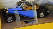 PANTHEON 005 - BUGATTI TYPE 46 PROFILE 1933 NOIR / BLEUE 1/18