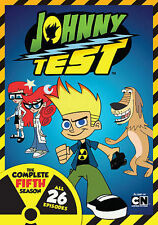 Johnny Test: The Complete Fifth Season 5 Five (DVD, 2015, 2-Disc Set) - NEW!!