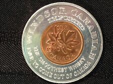 """1970 Canada 1C Encased Cent Lucky Penny """"Windsor Canadian Whisky"""""""
