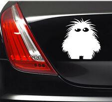 HAIRY MONSTER STICKER Car Bumper Van Window Laptop JDM VINYL DECALS STICKERS