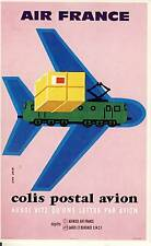 CARTE POSTALE / POSTCARD / AVIATION / ILLUSTRATEUR JEAN COLIN / AIR FRANCE