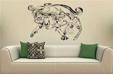 Anime Wolf Manga Wolf Wall Art Sticker Decal 1805