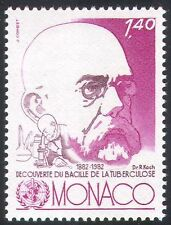 Monaco 1982 Robert Koch/Medical Science/Health/Welfare/TB/Medicine 1v (n33841)