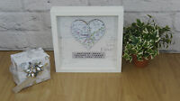 Engagement Gift , Personalised Map Gift Wedding Present First Anniversary Home