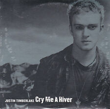 CD CARDSLEEVE JUSTIN TIMBERLAKE CRY ME A RIVER 2T NEUF SCELLE