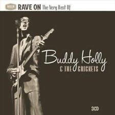 BUDDY HOLLY & THE CRICKETS - RAVE ON: VERY BEST OF (3CD 2010) 79 TRACKS