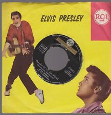 "7"" Elvis Presley The Girl Of My Best Friend / A Mess Of Blues RCA 47-9333"