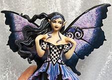 Fairy Site Amy Brown GOTH BLUE Fantasy Art Figurine Statue 2011 Munro AB37018