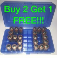 AAA Battery Box BUY 2 GET 1! Plastic Storage Container Holds 50 Batteries ! BLUE