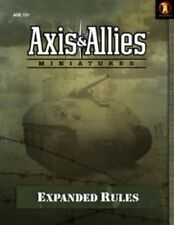 EXPANDED RULES GUIDE w/ Double Sided Map Axis&Allies miniatures