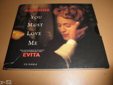 MADONNA single YOU MUST LOVE ME from EVITA movie CD + RAINBOW HIGH