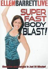 Dance, Pilates & Yoga Fusion DVD - ELLEN BARRETT LIVE - SUPER FAST BODY BLAST!