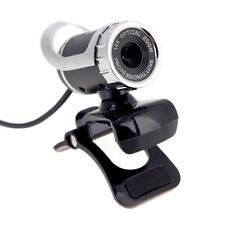 USB 50 Megapixel HD Camera Web Cam 360° MIC Clip-on for Skype Computer Laptop PC