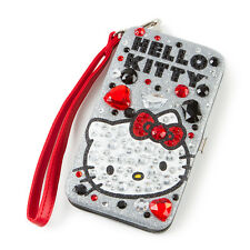 Hello Kitty iPhone Wristlet Case Bling Smartphone Tech Case Hardcase Sanrio New
