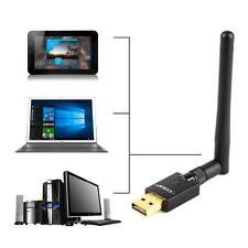 High Power Long Range USB WiFi Wireless Adapter 600Mbps 802.11n/g/b w/Antenna